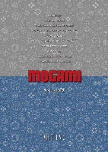 mogami tech catalog