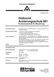 Disbocret Armierungsschutz 601 - Capatect