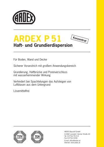 ARDEX P 51 Haft- und Grundierdispersion