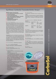 Technische Information - Capatect