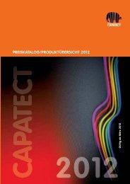 PREISKATALOG/PRODUKTÜBERSICHT 2012 - Capatect