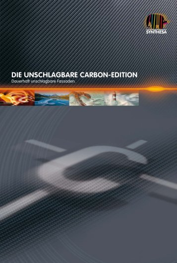 DIE UNSCHLAGBARE CARBON-EDITION - Capatect