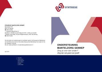 ONDERSTEUNING MANTELZORG GENNEP - Synthese
