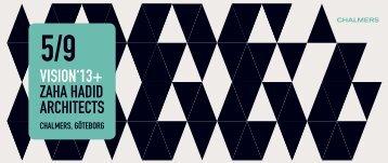 VISION'13+ ZAHA HADID ARCHITECTS - Fox Design