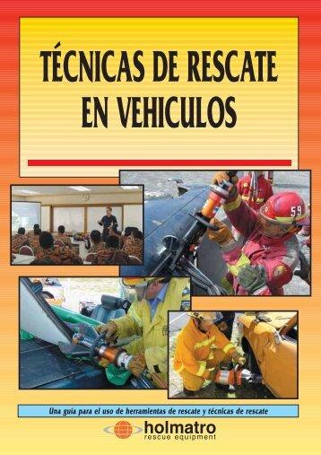 TÉCNICAS DE RESCATE EN VEHICULOS