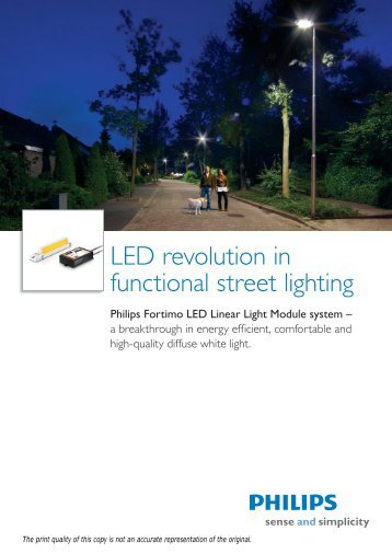 Download product leaflet - Philips Lighting