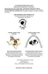 Samoyed Club of America - Foy Trent Dog Shows