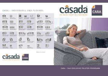 CARA - INDIVIDUELL UND FLEXIBEL - Casada
