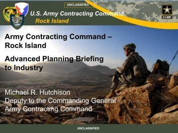 Army Contracting Command - Iowa/Illinois National Defense ...