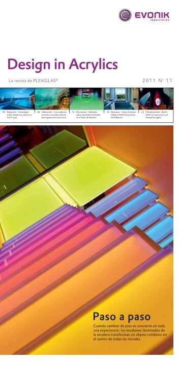 Design in Acrylics - PLEXIGLAS