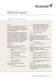 Technische Information PLEXIGLAS Optical 0Z024