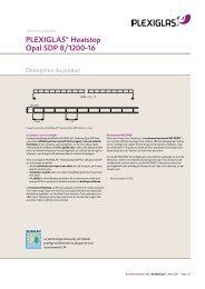 PLEXIGLAS Heatstop SDP 8
