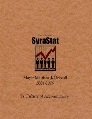 Syra-Stat Booklet Text.pmd - City of Syracuse