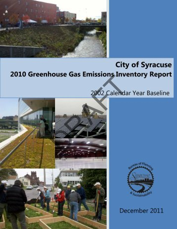 Detailed Report - City of Syracuse