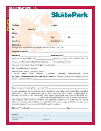 SkatePark - Columbia SportsPark