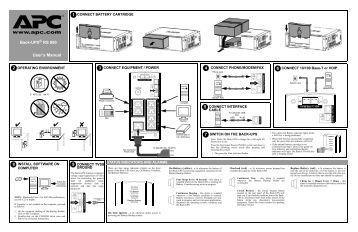 apc back ups pro 1400 manual