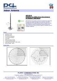 "Laird Technologies EXH-170-BN VHF 165-175MHz Rubber Antenna 10.5/"" BNC Male"