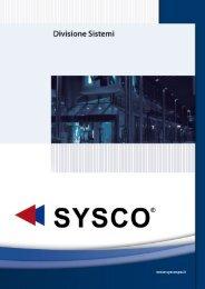 Divisione Sistemi - Sysco SpA