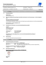 Sicherheitsdatenblatt Methansulfonsäure 70 - SysKem ...