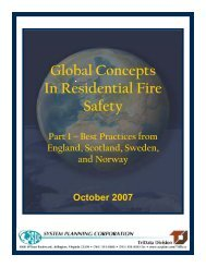 Global Concepts In Residential Fire Safety: Part 1 - System Planning ...