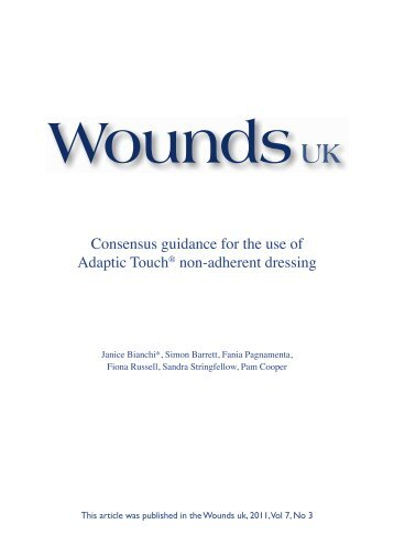 Adaptic Touch® non-adherent dressing - Systagenix