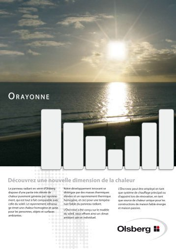 Flyer Orayonne - Systec Therm AG