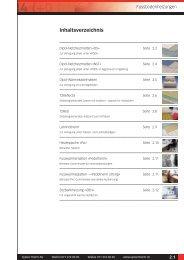 Preisliste Fussbodenheizung - Systec Therm AG