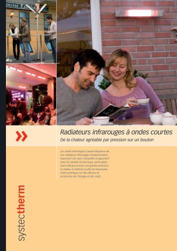 Radiateurs infrarouges à ondes courtes - Systec Therm AG