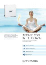 Ventilazione controllata - Systec Therm AG