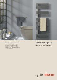 Radiateurs pour salles de bains - Systec Therm AG