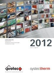Listino prezzi 2012 Elettrotermica Ventilazione ... - Systec Therm AG