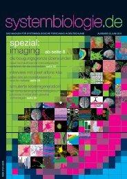 Das Magazin - Ausgabe 03 - Systembiologie