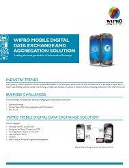 Wipro Mobile Digital Data Exchange and Aggregation Solution