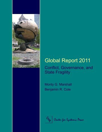 Global Report 2011 - Center for Systemic Peace