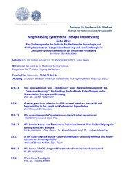 Systemische Therapie & Beratung