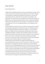 Bericht Summer School 2012.pdf - Internetplattform für Systemische ...