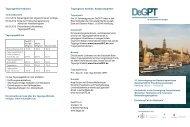 Tagungsort, Anreise, Ansprechpartner Tagungsinformationen
