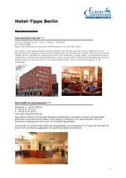 Hotel-Tipps Berlin