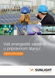 OPzV Batteries SER 1 - Systems Sunlight S.A.