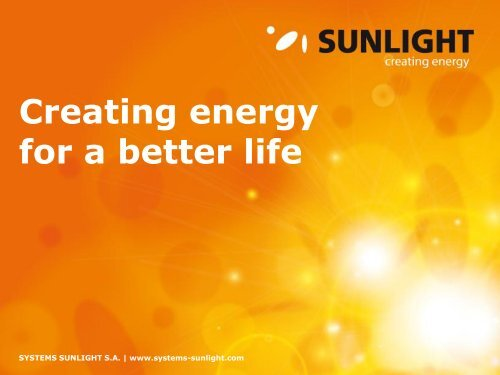 Batteries - Systems Sunlight S.A.