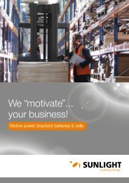 "We ""motivate""… your business! - Systems Sunlight S.A."