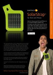 SolarStrap™ - Systems Sunlight S.A.
