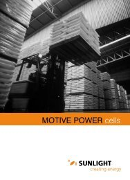 MOTIVE POWER cells - Systems Sunlight S.A.