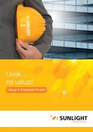 Services SER 1 - Systems Sunlight S.A.