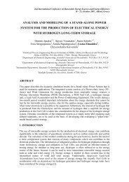 analysis and modeling of a stand-alone power system for the ...