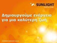 Δημιουργούμε ενέργεια για μια καλύτερη ζωή - Systems Sunlight S.A.