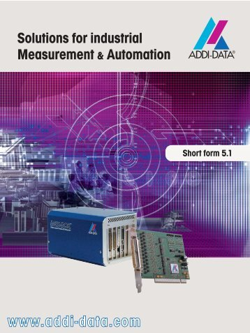 Solutions for industrial Measurement & Automation - System ...