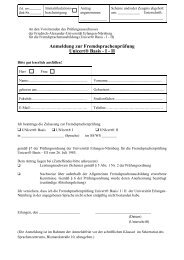 Anmeldung_UNIcert_Basis-I-II - Sprachenzentrum - Friedrich ...