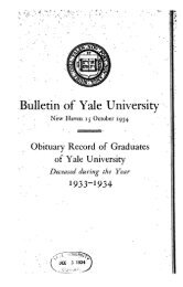 1940-1941 Obituary Record of Graduates of Yale University