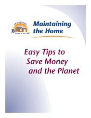 Easy Tips to Save Money and the Planet - Home of My Own